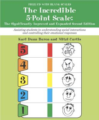The incredible 5 point scale book cover