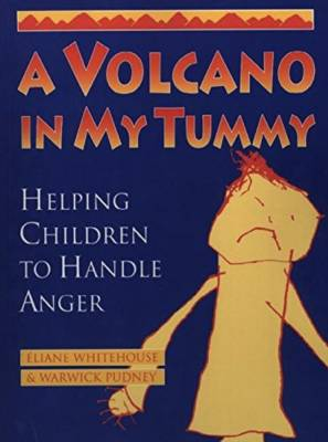 A volcano in my tummy book cover