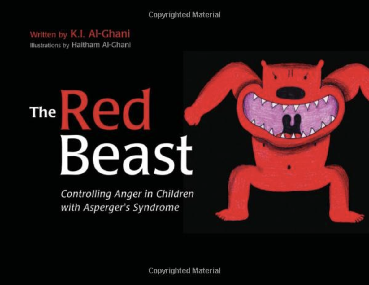 the red beast - controlling anger in children with aspergers syndrome book cover