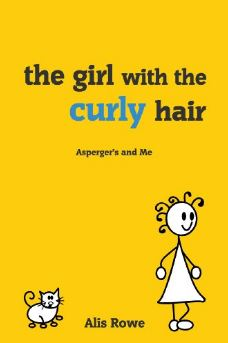 the girl with the curly hair - aspergers and me book cover